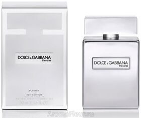 Dolce Gabbana The one man Platinum 100ml edt limited ed.(2014)