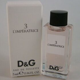 Dolce Gabbana 3 L'Imperatrice woman 5ml edt