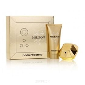 P. Rabanne 1 Million lady (50ml edp+100ml лосьон д/тела)