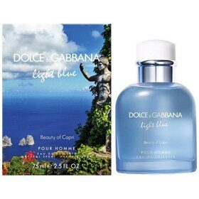 Dolce Gabbana Light Blue Beauty of Capri man 125ml edt