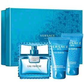 Versace Eau Fraiche man set(50ml edt+50ml гель д/д+50ml бальзам)