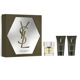 YSL L'Homme set (60ml edt+50ml гель д/душа+50ml бальзам п/бр)