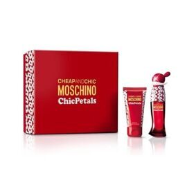Moschino Chic Petals lady set(30ml edt +50ml лосьон д/тела)