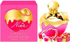 N.R NINA Les Delices 75ml edt limited edition