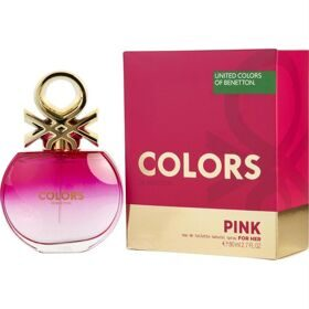 Benetton Colours Pink woman 80ml edt