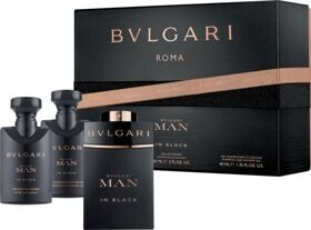Bvlgari mаn IN BLACK set (60ml edp+40ml бальзам п/бр+40ml гель д/душа)