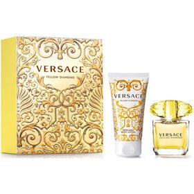 Versace Yellow Diamond woman set (30ml edt+50ml лосьон д/тела)