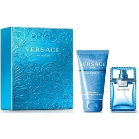 Versace Eau Fraiche man set(30ml edt+50ml гель д/д)