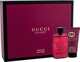 Gucci Guilty Absolute woman set