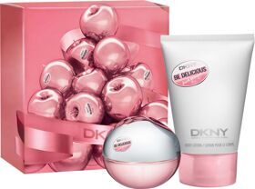DK NY Be Delicious Fresh Blossom woman set (30ml edp+100ml лосьон д/тела)