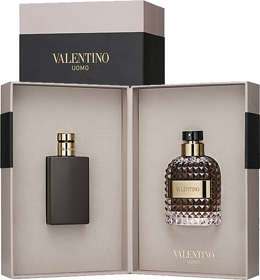 Valentino Uomo man set (50ml edt+100ml гель д/душа)