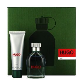 Hugo man set (75ml edt+100ml гель д/душа)