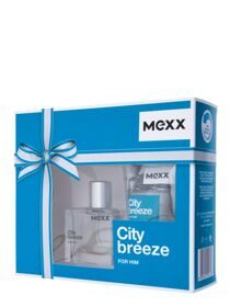 Mexx City Breeze man set (30ml edt +50ml гель д/душа)