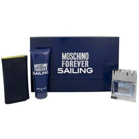 Moschino Forever Saling men set (30ml edt+50ml бальзам п/бр)