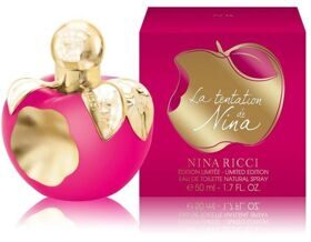 N.R NINA La Tentation De Nina 50ml edt limited edition